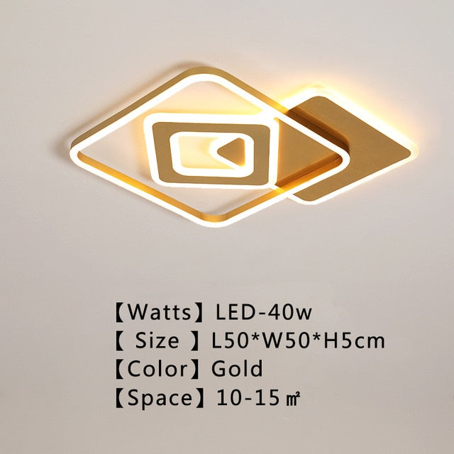 Avrie Square LED Ceiling Light