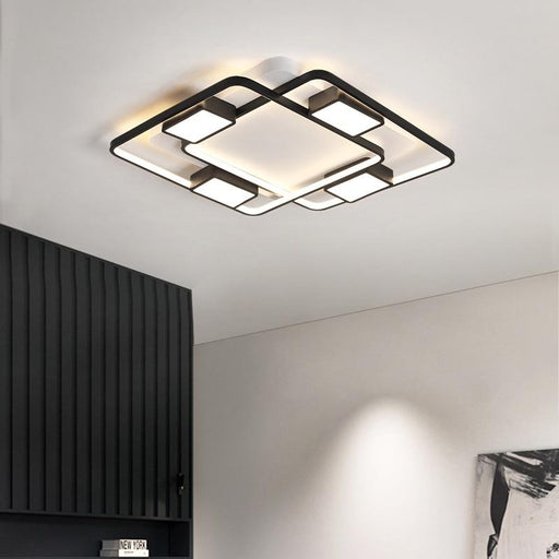 Yokoho Square LED Ceiling Light from Interior Deluxe | Modern Lighting + Decor