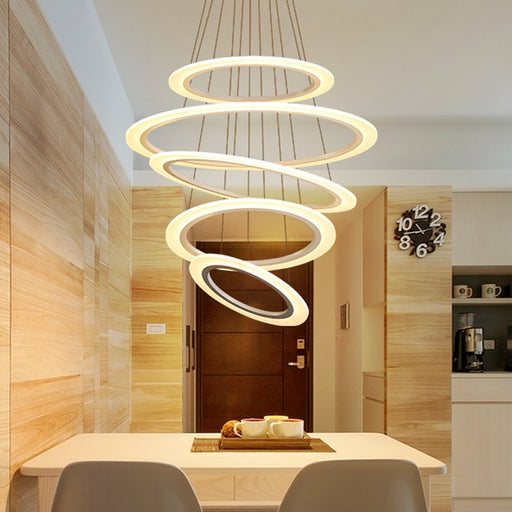 Buy online latest and high quality Rikah LED Chandelier from Interior Deluxe | Modern Lighting + Decor