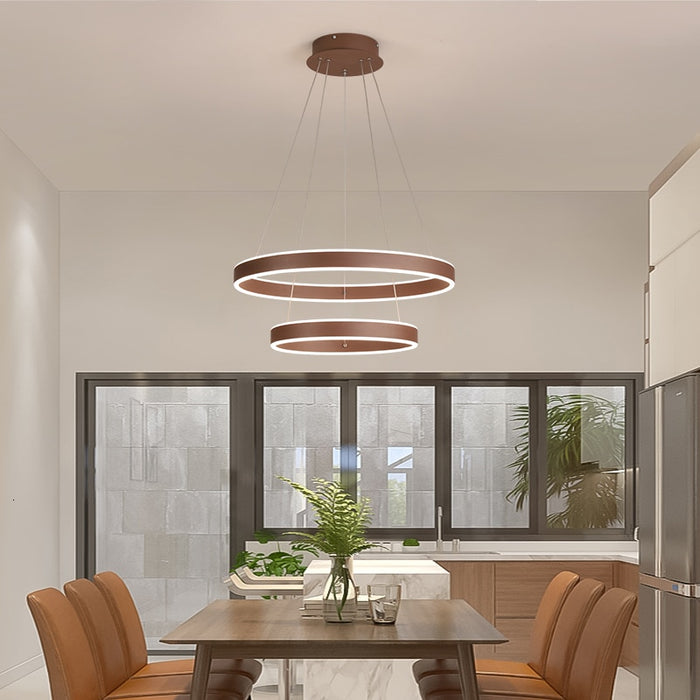 Buy online latest and high quality Monza LED Chandelier from Interior Deluxe | Modern Lighting + Decor