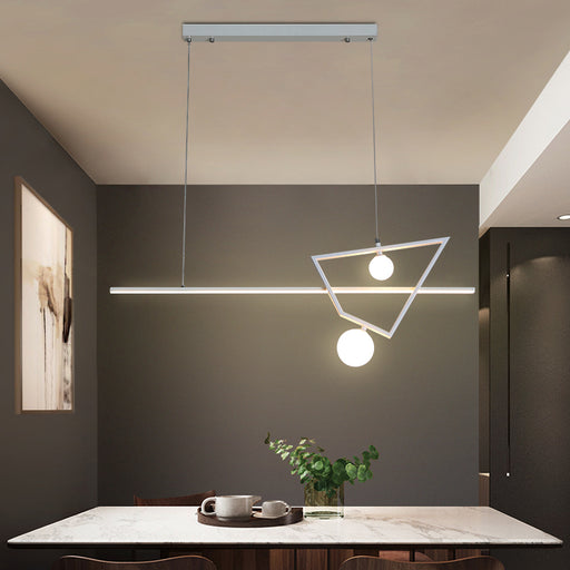Buy online latest and high quality Zhon LED Linear pendant light from Interior Deluxe | Modern Lighting + Decor