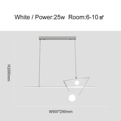 Zhon LED Linear pendant light from Interior Deluxe | Modern Lighting + Decor