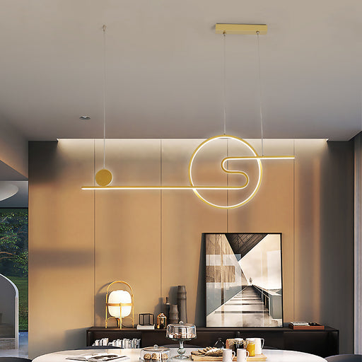 Buy online latest and high quality Tukomo LED Linear Suspension Light from Interior Deluxe | Modern Lighting + Decor