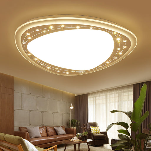 Royal Crystal LED Ceiling Light from Interior Deluxe | Modern Lighting + Decor