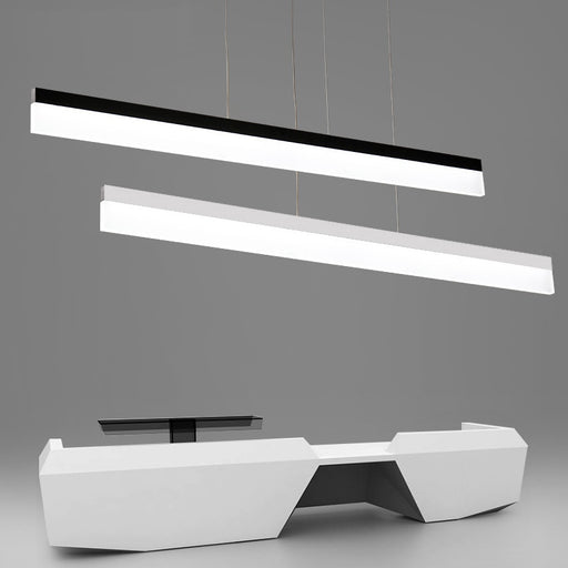 Buy online latest and high quality Samosi LED Linear Suspension Light from Interior Deluxe | Modern Lighting + Decor
