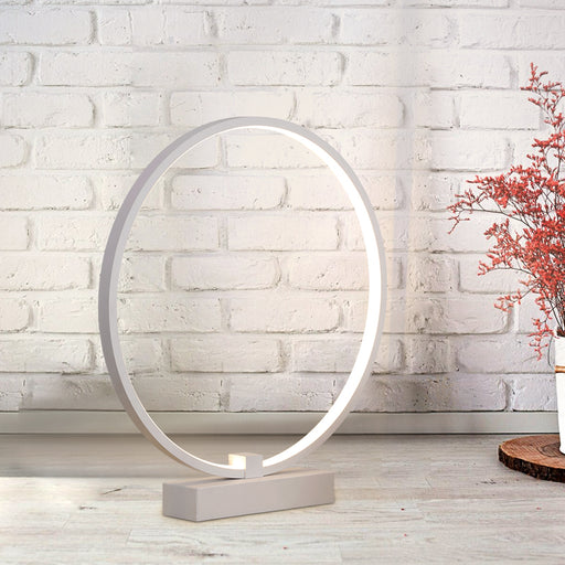 Ring LED Table Lamp from Interior Deluxe | Modern Lighting + Decor