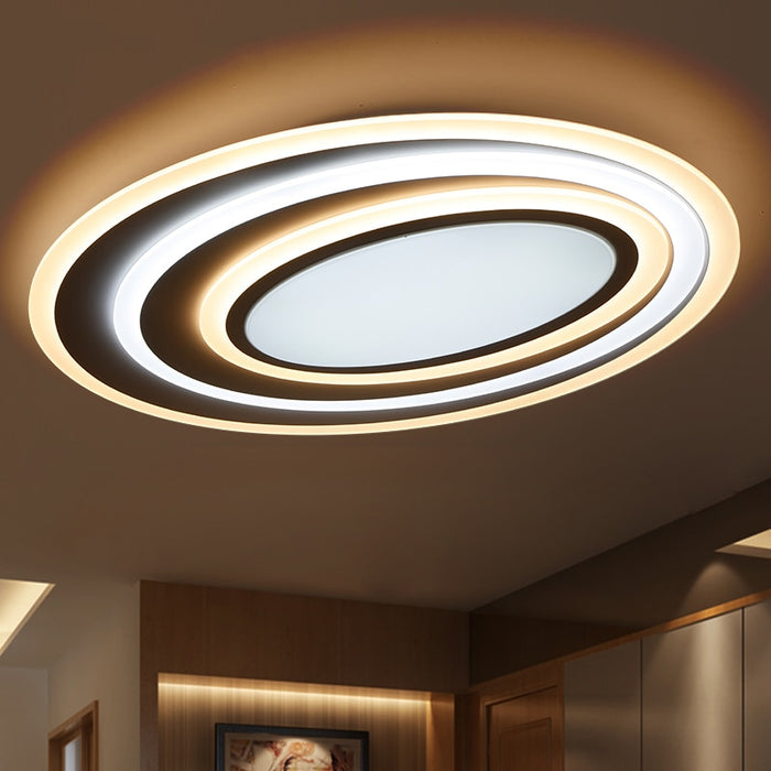 Mirage Oval LED Ceiling Light from inter | Modern Lighting + Decor