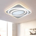 Mirage Square LED Ceiling Light from Interior Deluxe | Modern Lighting + Decor