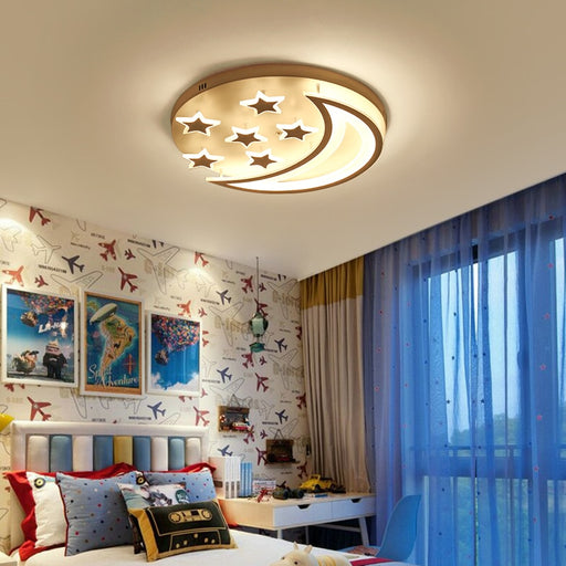 Buy online latest and high quality Star Moon LED Ceiling Light from Interior Deluxe | Modern Lighting + Decor