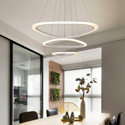 Magma 3 LED Pendant Light from Interior Deluxe | Modern Lighting + Decor