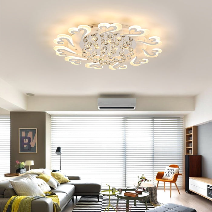 Blossom LED Ceiling Light from Interior Deluxe | Modern Lighting + Decor