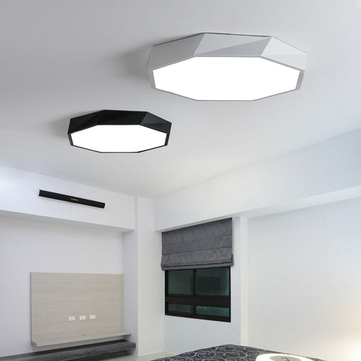Octagon LED Ceiling Light from Interior Deluxe | Modern Lighting + Decor