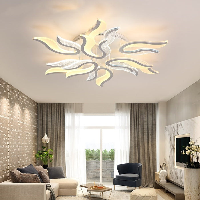 Pistri LED Ceiling Light from Interior Deluxe | Modern Lighting + Decor
