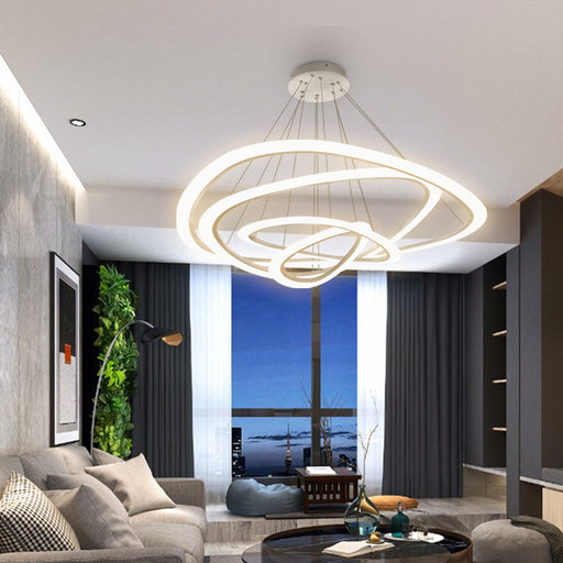 Magma 4 LED Pendant Light from Interior Deluxe | Modern Lighting + Decor