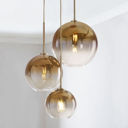 Rodix Glass Pendant Light from Interior Deluxe | Modern Lighting + Decor