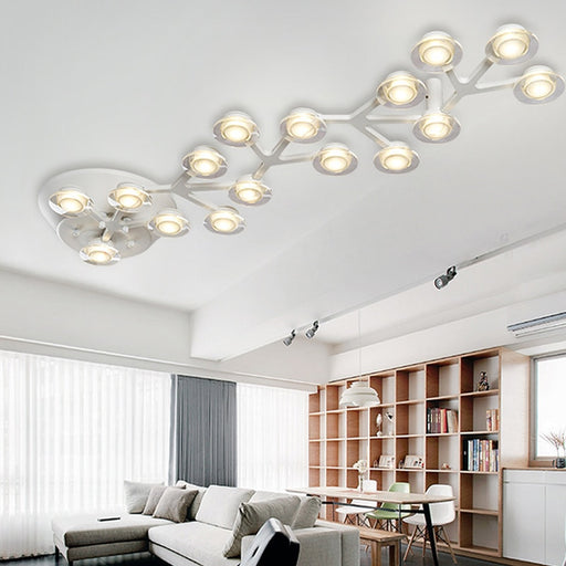 Enlitene Chandelier from Interior Deluxe | Modern Lighting + Decor