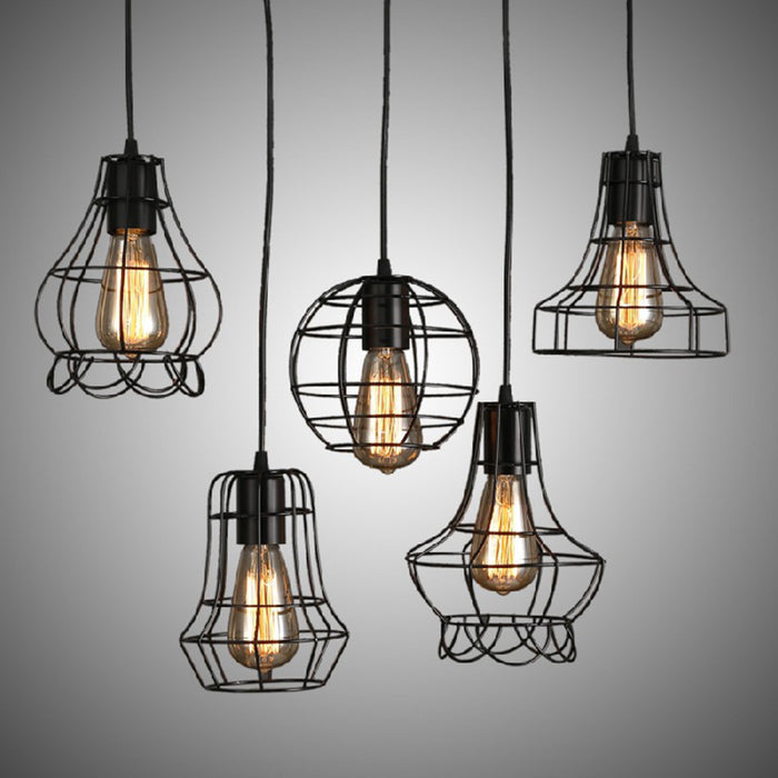 Pot Cage Pendant Light from Interior Deluxe | Modern Lighting + Decor