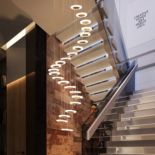Snapspark Chandelier from Interior Deluxe | Modern Lighting + Decor