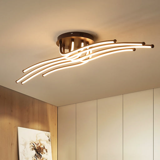 Buy online latest and high quality Tikka Brown LED Ceiling Light from Interior Deluxe | Modern Lighting + Decor