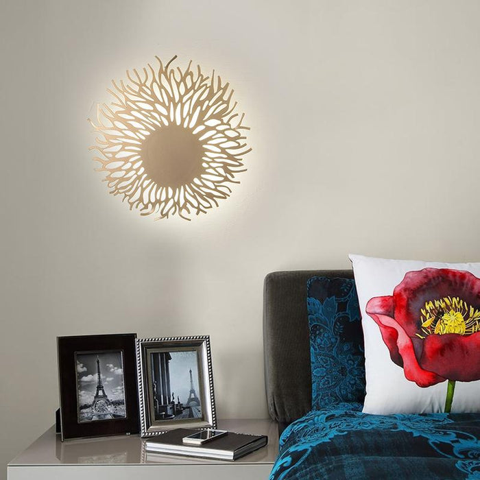 Sunflowers LED Wall Light