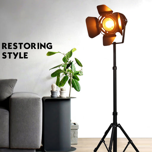 Tripod Single Head Floor Lamp from Interior Deluxe | Modern Lighting + Decor