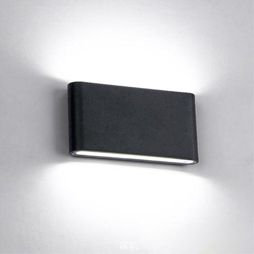 Exzo Outdoor LED Wall Lamp from Interior Deluxe | Modern Lighting + Decor