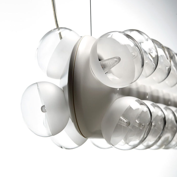 Prop Light Double Horizontal Suspension | Modern Lighting + Decor