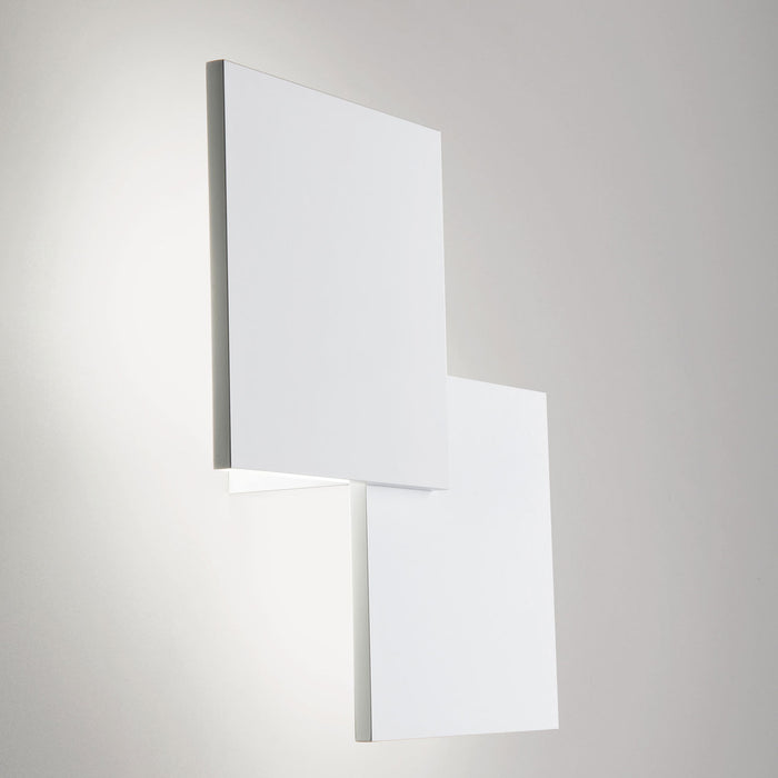 Puzzle Double Square Wall/Ceiling Light from Studio Italia Design | Modern Lighting + Decor