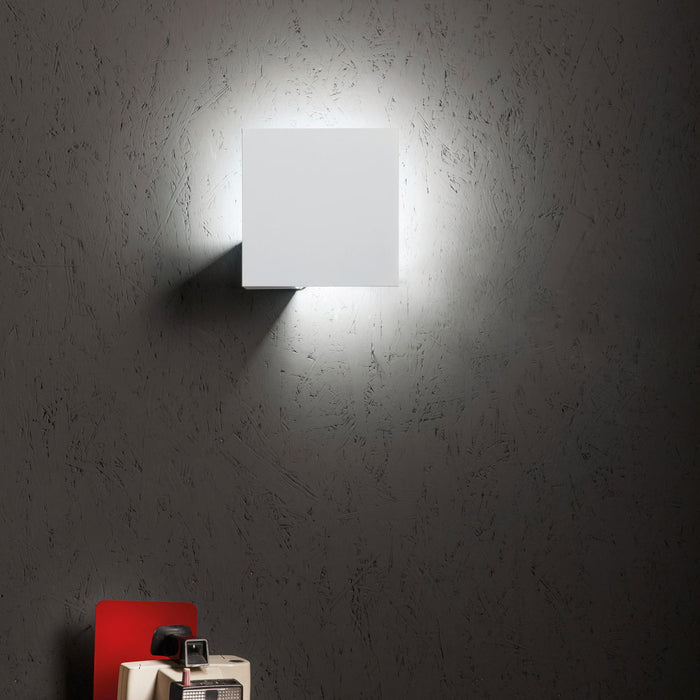 Puzzle Single Square Wall/Ceiling Light from Studio Italia Design | Modern Lighting + Decor