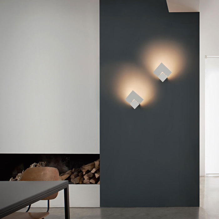 Puzzle Twist Single Wall Sconce from Studio Italia Design | Modern Lighting + Decor