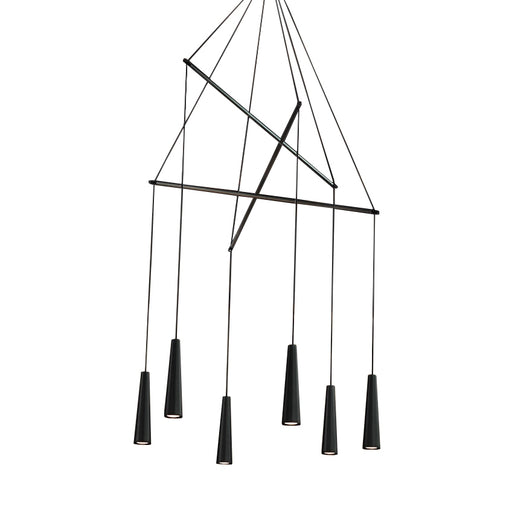 Mikado LA6 Chandelier from Morosini | Modern Lighting + Decor