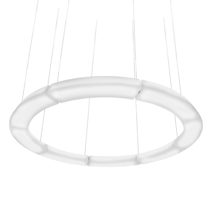 Buy online latest and high quality Circular Pol XXL Pendant Light - Round from Martinelli Luce | Modern Lighting + Decor