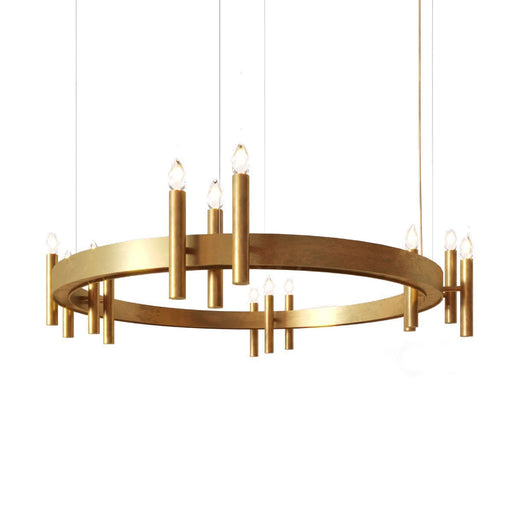 Shiro Ring 14 Lights Pendant Light from Brand Van Egmond | Modern Lighting + Decor