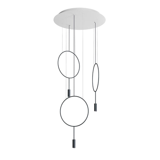 Buy online latest and high quality Revolta R70.3S Round Suspension Light from Estiluz | Modern Lighting + Decor