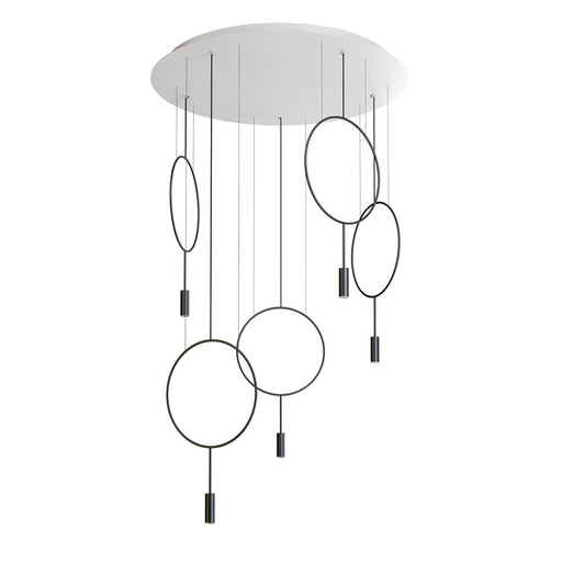 Buy online latest and high quality Revolta R100.5S Round Suspension Light from Estiluz | Modern Lighting + Decor