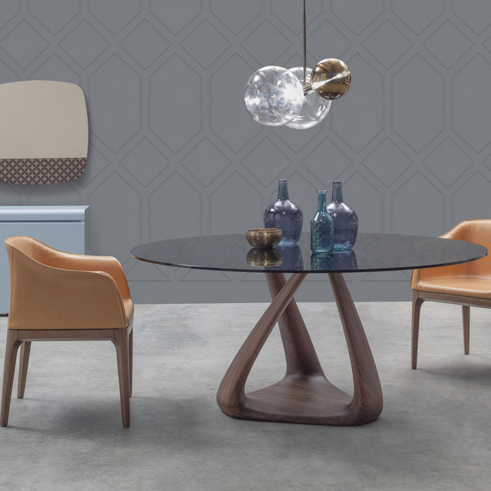 Rizoma Oval Round Dining Table from Tonin Casa | Modern Lighting + Decor