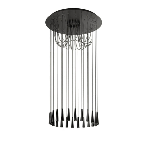 Santral LA24 Chandelier from Morosini | Modern Lighting + Decor