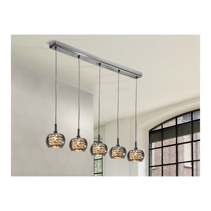 Arian 5 Light Bar Suspension  | Modern Lighting + Decor