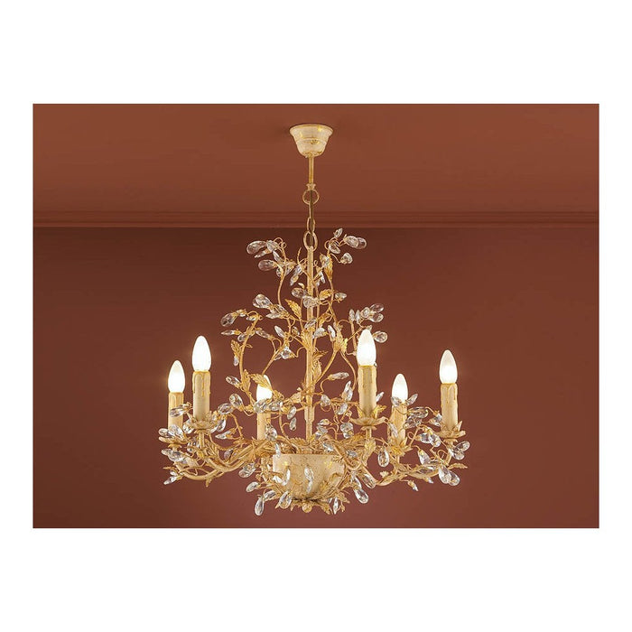 Verdi 6 Light Chandelier  | Modern Lighting + Decor
