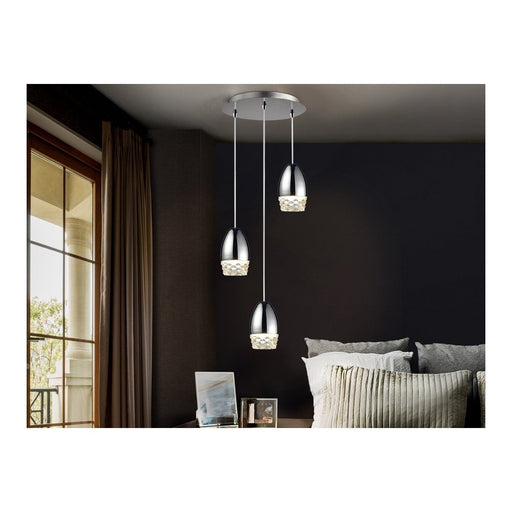 Alessa 3 Light Suspension  | Modern Lighting + Decor