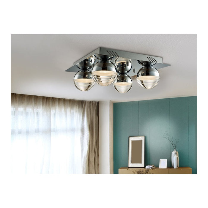 Flavia 4 LED Ceiling Light  | Modern Lighting + Decor