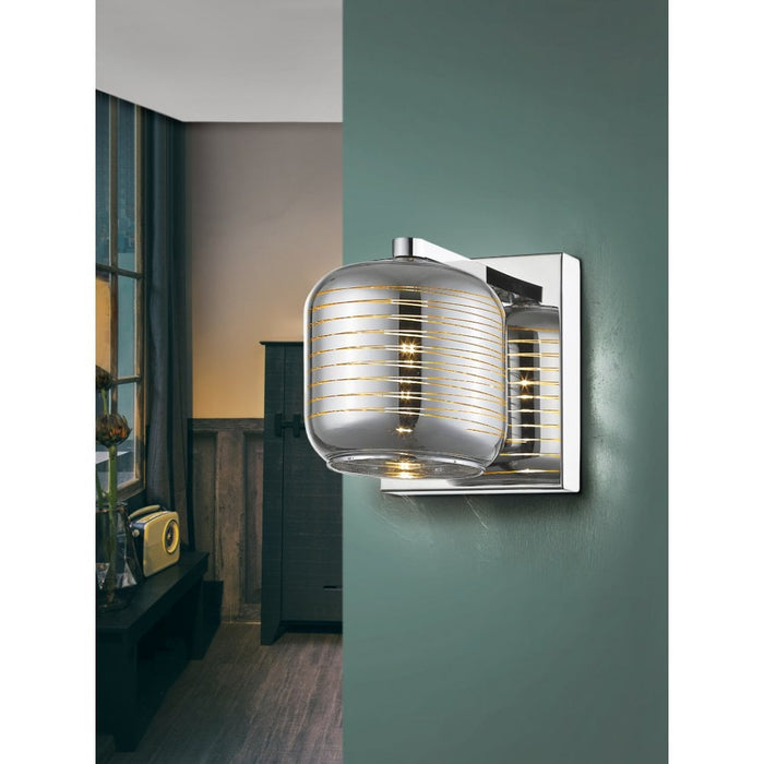 Vias 1 Light Wall Light  | Modern Lighting + Decor