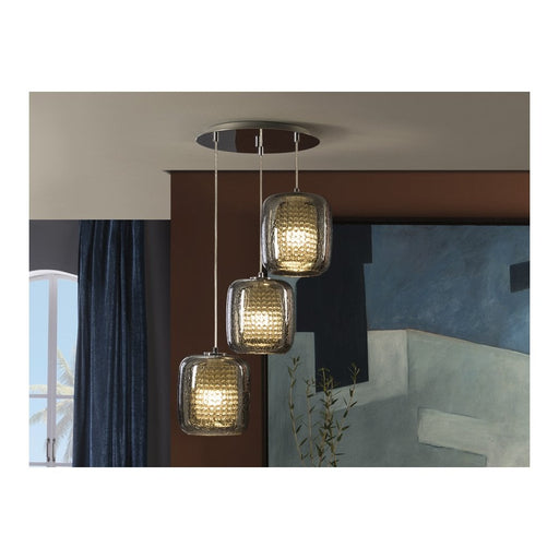 Aqua 4 Light Suspension  | Modern Lighting + Decor