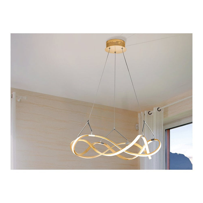 Buy online latest and high quality Molly LED Suspension - Small Gold from Schuller | Modern Lighting + Decor
