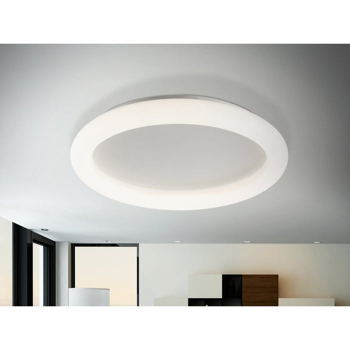 Quasar LED Flush Ceiling Light  | Modern Lighting + Decor
