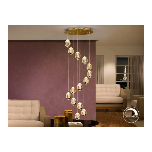 Rocio 14 Light LED Suspension  | Modern Lighting + Decor