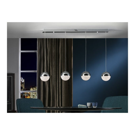 Sphere 4 Light LED Bar Suspension  | Modern Lighting + Decor