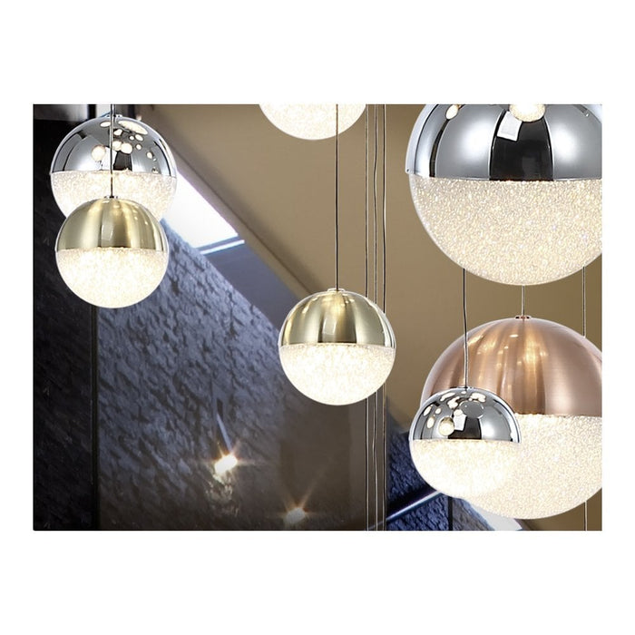 Sphere 27 Light LED Suspension  | Modern Lighting + Decor