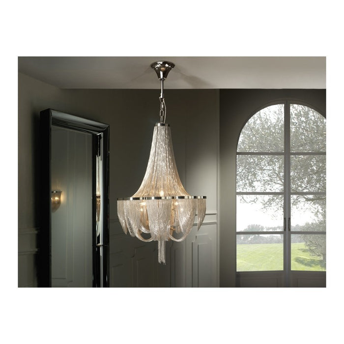 Minerva 10 Light Suspension  | Modern Lighting + Decor
