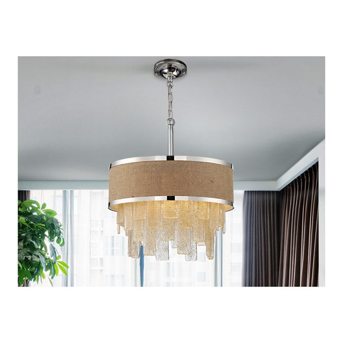 Beth 3 Light Suspension  | Modern Lighting + Decor